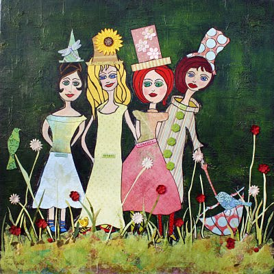 women_garden_party_sisters__24x24_on_wood__325_opt
