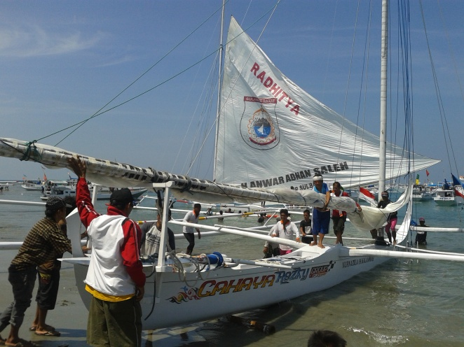 Sandeq boat festival, Sulawesi