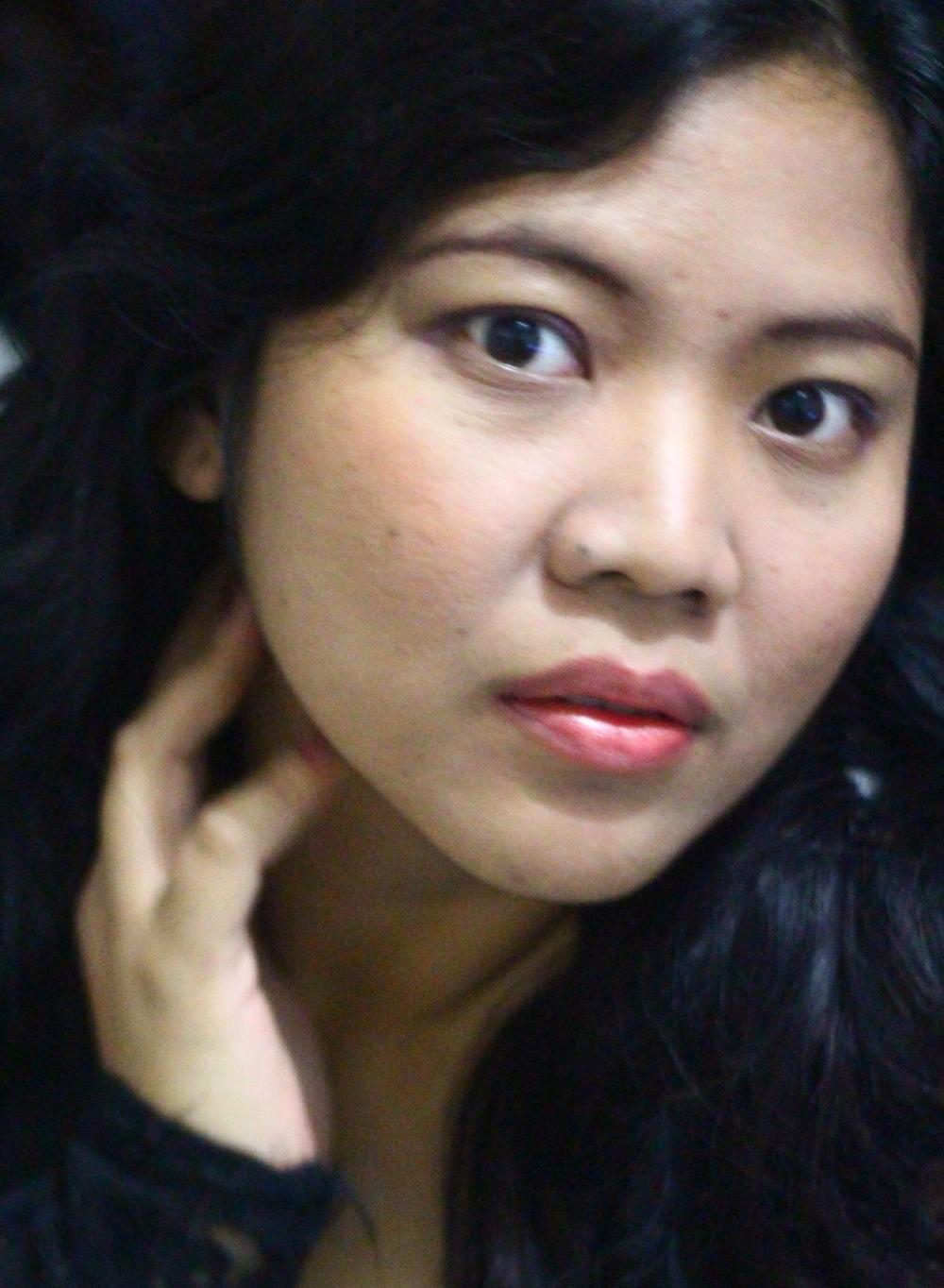 A bit of make up