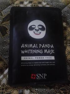 ANIMAL MASK PANDA SNP