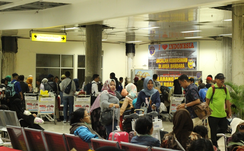 Reporting to Sulawesi: Touch Down,Palu