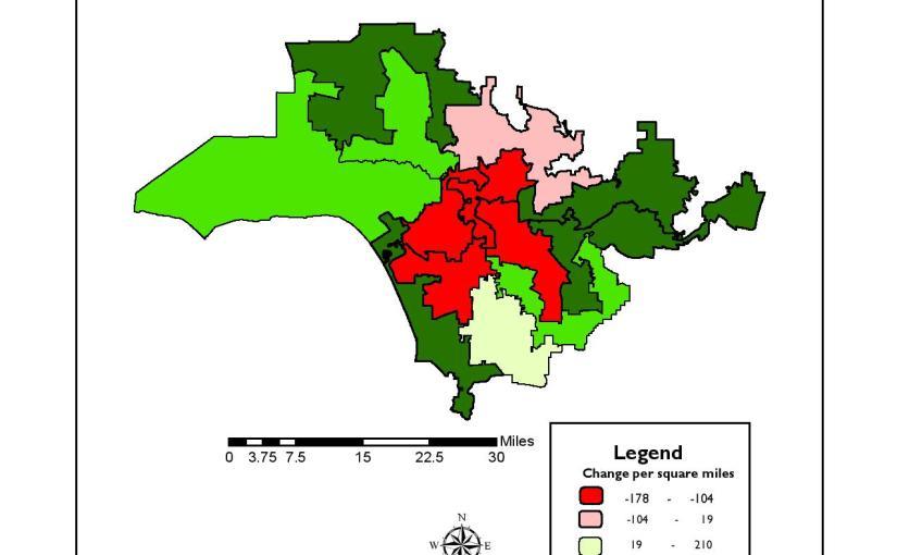 GIS: Choropleth map
