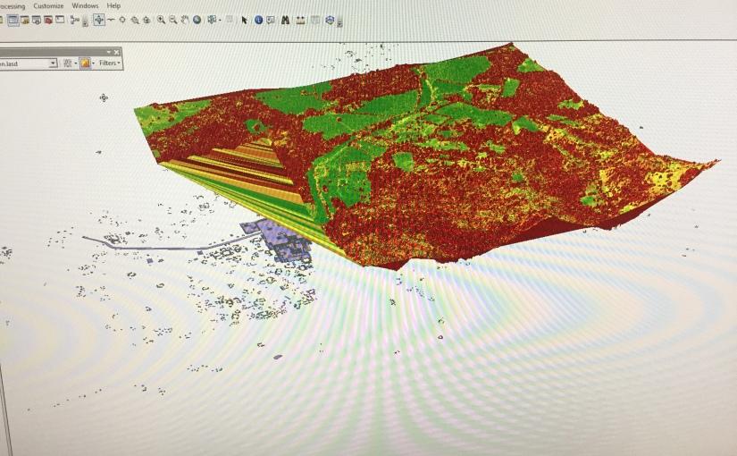3D map inGIS
